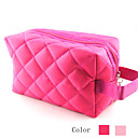 Diamond Shape Pattern Make up/Cosmetics Bag Rose&amp;Pink(Assorted Colors)