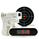 Shooting Desgin Alarm Clock with Gun