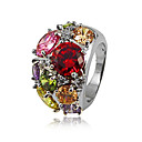 Platinum Fashion Bague plaqu zircon