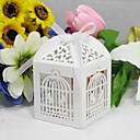 Dirdcage Design Laser Cut Favor Box (Set of 12)