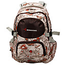 MONKKING Light Pink/Brown Children's School Bag