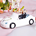 Couple In Getaway Car Wedding Cake Topper