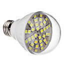 E27 6W 36x5050SMD 420-470LM 6000-6500K Cool White Light LED-lamp (220V)