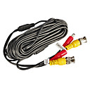 60 FeetBNC Video and Power 12V DC Integrated Cable