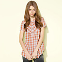 MYWELL Check Pattern Shirt