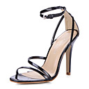 Beautiful Leatherette Stiletto Heel Sandals Party / Evening Shoes