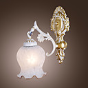 Euro Style Wall Light with 1 light - Downward