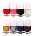 8 Color Stamp Nail Polish for Nail Art Printing(5ml,1PCS,Assorted Colors)