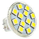 MR11 2W 12x5050SMD 100-150LM 6000-6500K Natural White Light LED Spot Bulb (AC/DC 12V)