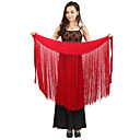 Dancewear Velvet with Tassels Latin Dance Skirt For Ladies More Colors
