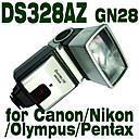 Emoblitz DS328AZ Digital Auto Flashgun for Canon/Nikon/Pentax/Olympus with Bracket
