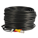 60 Meters BNC Video and Power 12V DC Integrated Cable