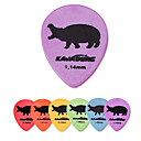 Kavaborg - Large Tear Drop Shape Guitar Picks/6-Pack(Hippo Design)