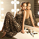 Women's Strapless Leopard Dress