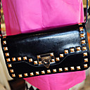 Lady's Fashion Cute Rivet Crossbody Bag
