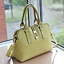 Lady's Vintage Cute Solid Color Tote